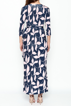 Pinkyotto Mod Floral Wrap Dress - Alternate List Image