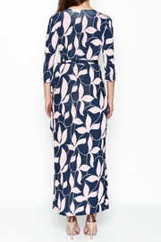 Pinkyotto Mod Floral Wrap Dress - Back cropped