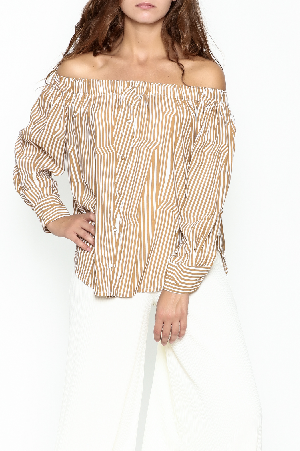 Pinkyotto Off Shoulder Top - Main Image