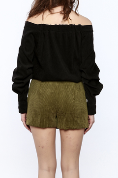 Shoptiques Product: Off The Shoulder Long Sleeve Top