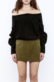Shoptiques Product: Off The Shoulder Long Sleeve Top - Side cropped