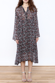 Pinkyotto Parisian Garden Midi Dress - Front full body
