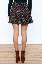 Shoptiques Product: Pattern Me Fall Skirt - Back cropped