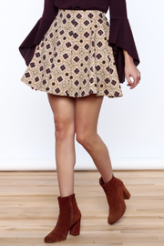 Pinkyotto Pattern Me Fall Skirt - Front cropped