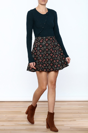 Pinkyotto Pattern Me Fall Skirt - Front full body