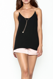 Pinkyotto Pearl Chain Gold Cord Cami - Product Mini Image