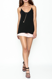 Pinkyotto Pearl Chain Gold Cord Cami - Side cropped