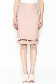 Pinkyotto Pencil Knit Skirt - Front full body
