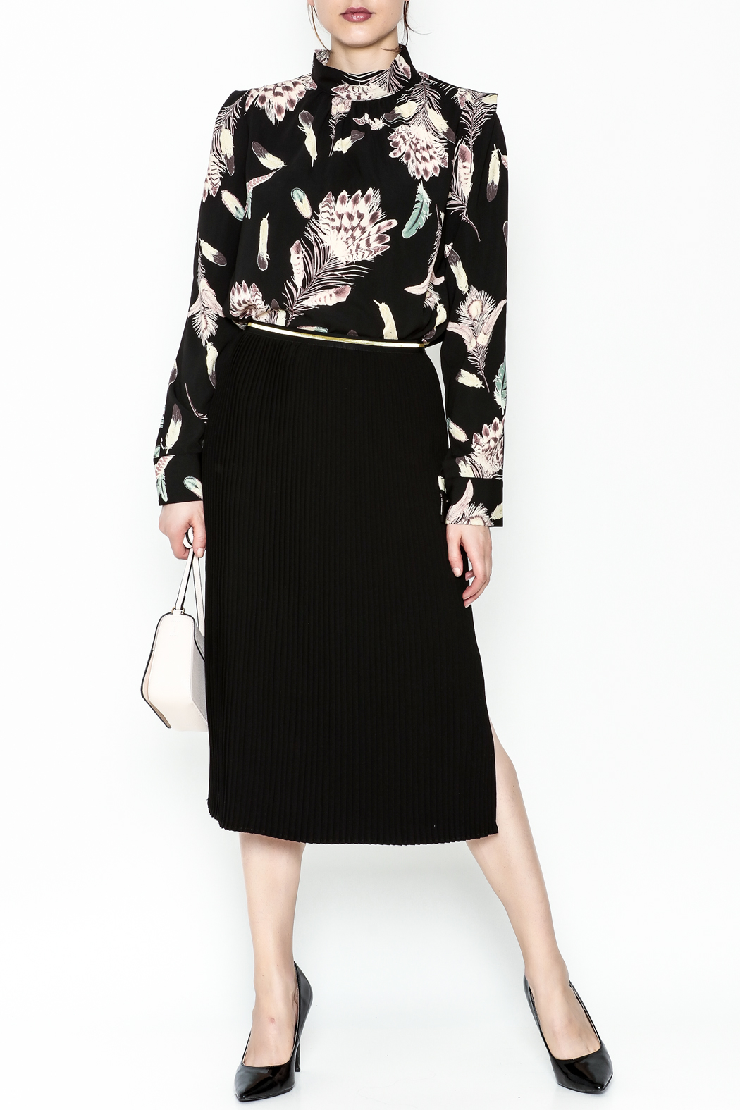 Pinkyotto Pencil Skirt - Side Cropped Image