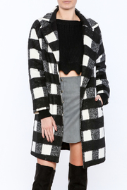 Shoptiques Product: Plaid Jane Coat