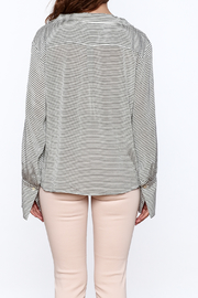 Pinkyotto Preppy Striped Pullover Top - Back cropped