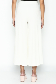 Pinkyotto Ribbed Knit Palazzo Pants - Back cropped