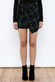 Shoptiques Product: School Days Wrap Tie Skirt - Side cropped
