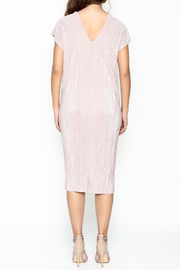 Pinkyotto Simple V Dress - Back cropped