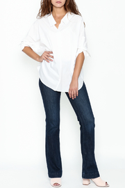 Pinkyotto Johnny Collared Top - Side cropped