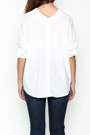 Pinkyotto Johnny Collared Top - Back cropped