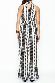 Pinkyotto Square Tiles Jumpsuit - Back cropped