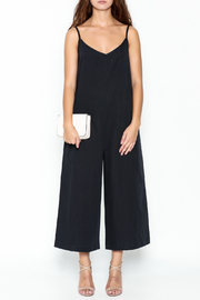 Pinkyotto Strappy Linen Jumpsuit - Front full body