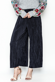Pinkyotto Textured Wide Leg Pants - Product Mini Image