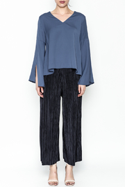 Pinkyotto Textured Wide Leg Pants - Other