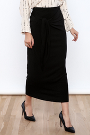 Shoptiques Product: Tie The Knot Jersey Skirt