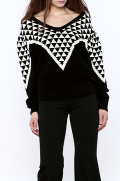 Shoptiques Product: Geo Print Sweater