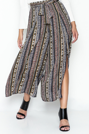 Pinkyotto Tribal Print Palazzo Pants - Product Mini Image