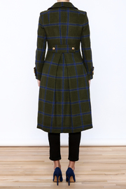 Pinkyotto Upper East Princess Coat - Back cropped