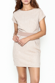 Pinkyotto Waist Pleated Dress - Front cropped