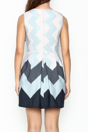Pinkyotto Zig Zag Dress - Back cropped