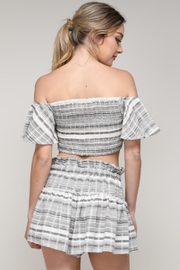 Do & Be Pinstripe Crop Top - Side cropped