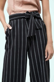 Blu Pepper Pinstripe Culottes Pants - Side cropped