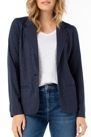 Liverpool  Pinstripe Fitted Blazer - Product Mini Image