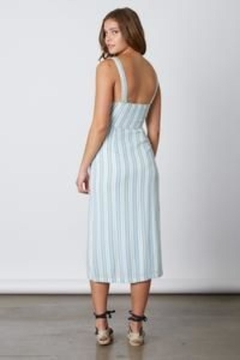 Unknown Factory Pinstripe Halter - Alternate List Image