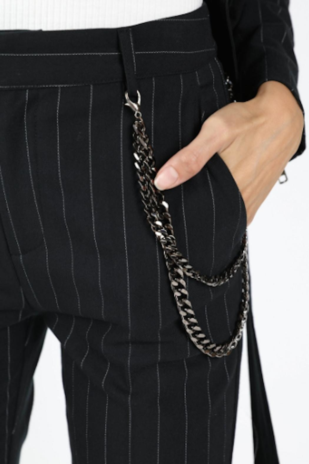 TIMELESS Pinstripe Pants - Front Full Image