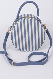 H & D Pinstripe Round Bag - Product Mini Image