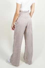 Saint Geraldine Pinstripe Spencer Pants - Front full body