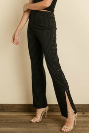 dress forum Pinstripe Track Pants - Product Mini Image