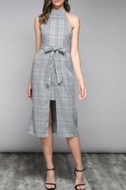 Do & Be Pinstripe Waist-Tie Dress - Product Mini Image