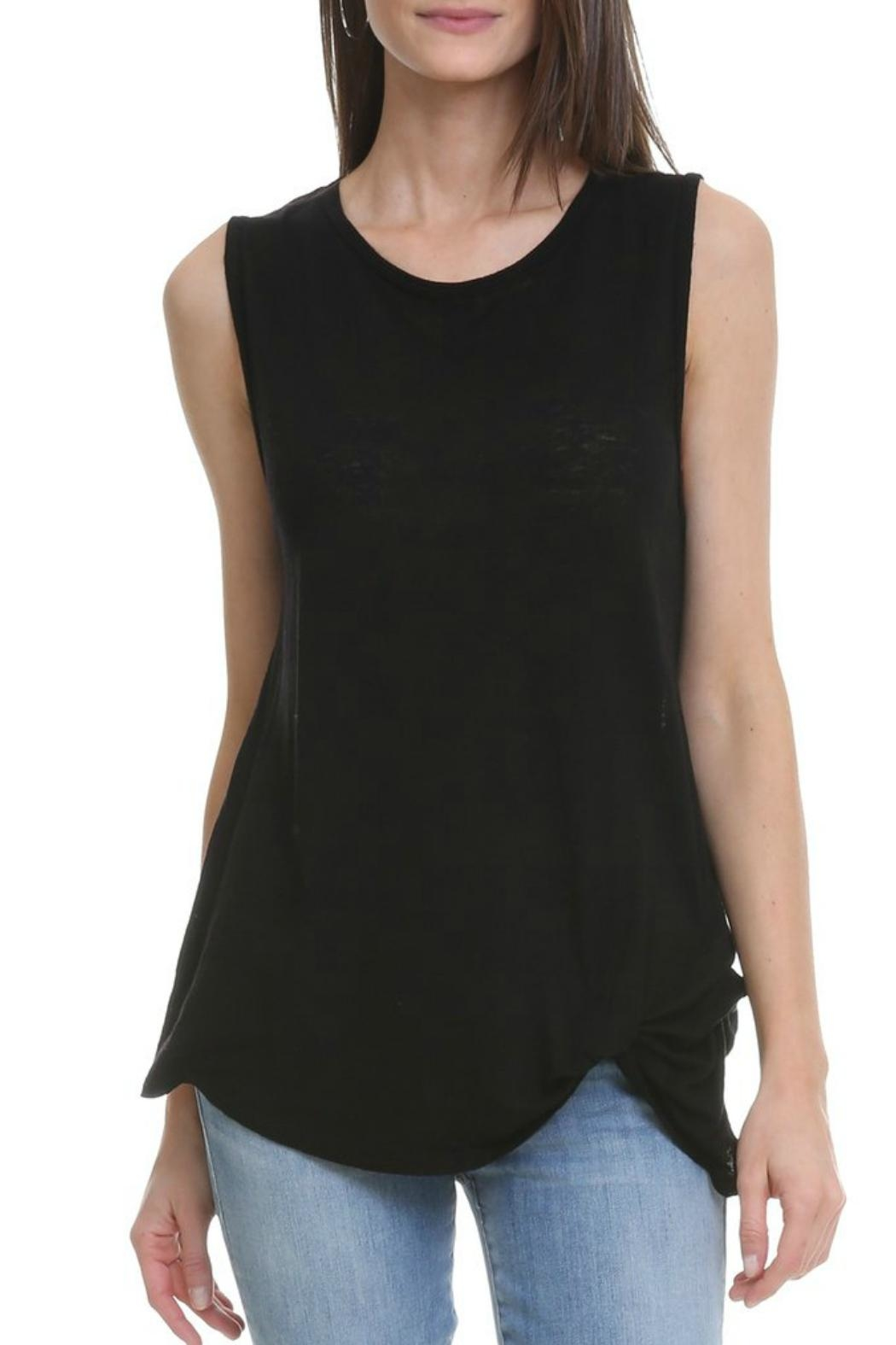 LNA Pintuck Tank - Front Cropped Image