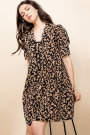 Thml Pintucked Ruched Dress - Side cropped