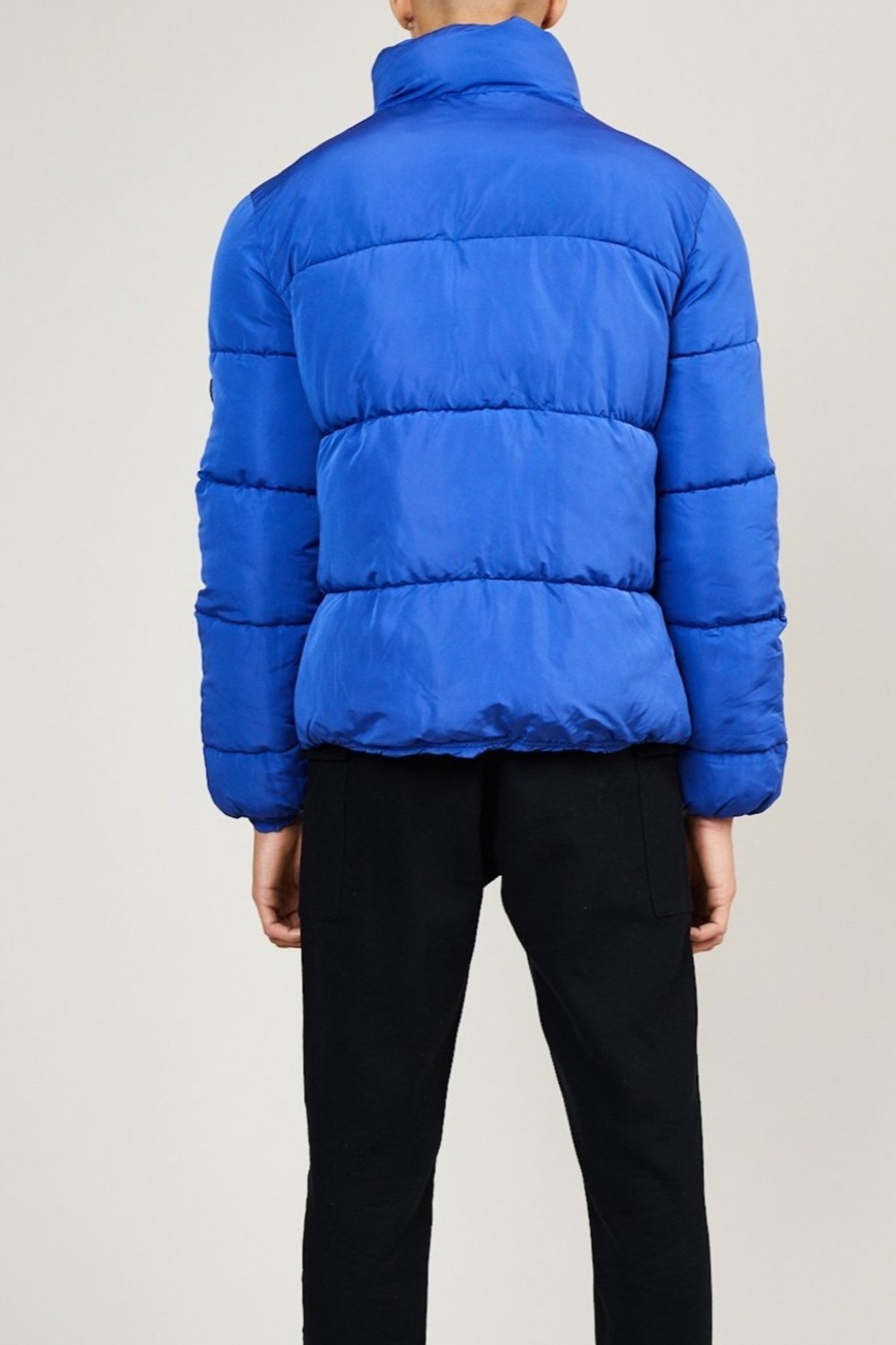 Native Youth Pioneer Puffa Jacket - Front Full Image