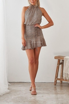 Two Sisters Pip Leopard Dress - Product List Image