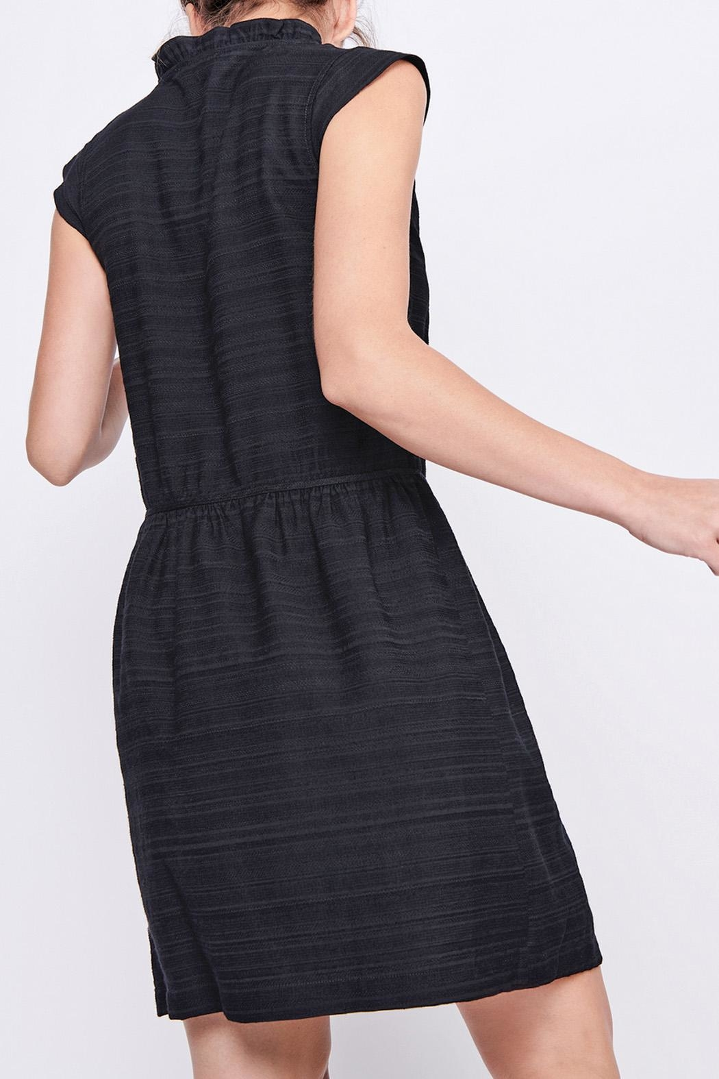 Cotelac Piper Black Dress - Back Cropped Image