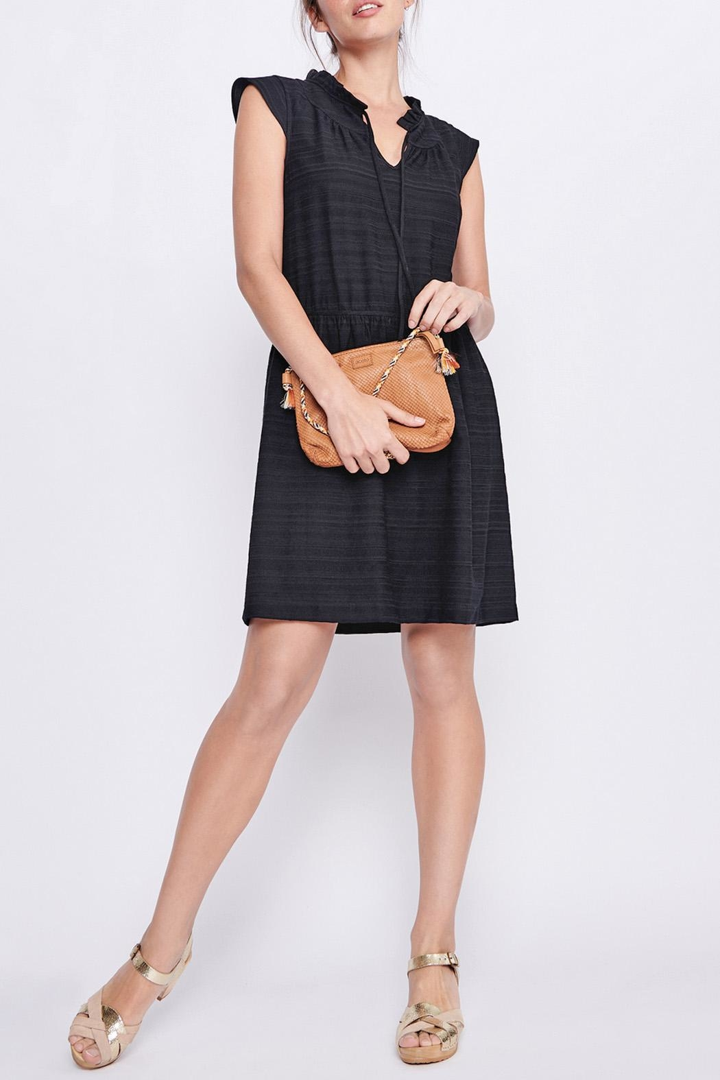 Cotelac Piper Black Dress - Front Cropped Image