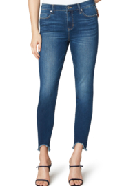 Liverpool  Piper Hugger Curved Fray Hem 28' Jean - Product Mini Image