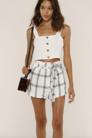 Heartloom Piper Shorts - Back cropped