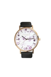 PIPERWEST Floral Minimalist Charcoal Watch - Product Mini Image