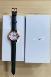 PIPERWEST Mini Floral Charcoal Watch - Product Mini Image