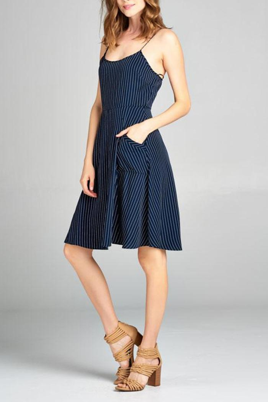 Tresics Pippa Fit-And-Flare Dress - Front Full Image